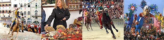 Festivals, fairs, sagre, jousts and other annual events in Tuscany