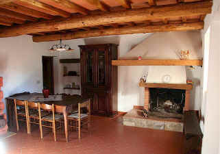 Tuscan dining living room